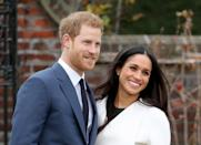 """<p>The Queen's annual Sandringham holiday celebration, typically held over three days, has always had a strict """"spouses-only"""" policy -—even Kate Middleton didn't attend in 2010 when she was engaged to Prince William. But Harry asked the Queen to make an exception for his lovely bride-to-be, and she gave her approval. Now, that's true love!</p>"""