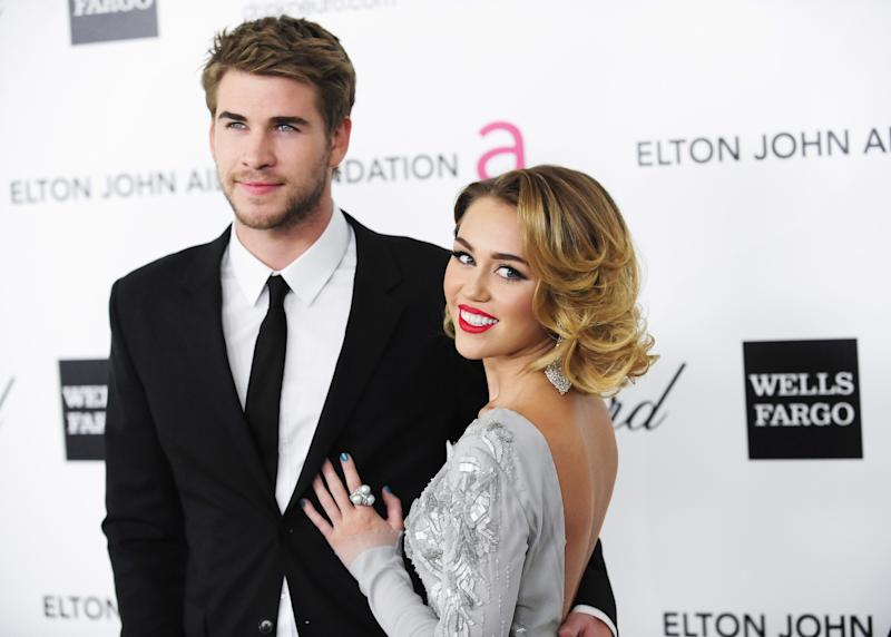 Miley Cyrus' father can't stop gushing about her boyfriend Liam Hemsworth – are they getting married?
