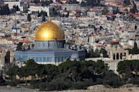 <p>Dominating the skyline of the Old City in Jerusalem, the Dome of the Rock is a holy location for three major religions. Built more than 1,300 years ago, this golden sphere become a symbol both of worship and controversy. (Photo: Flickr / Steve Evans)</p>