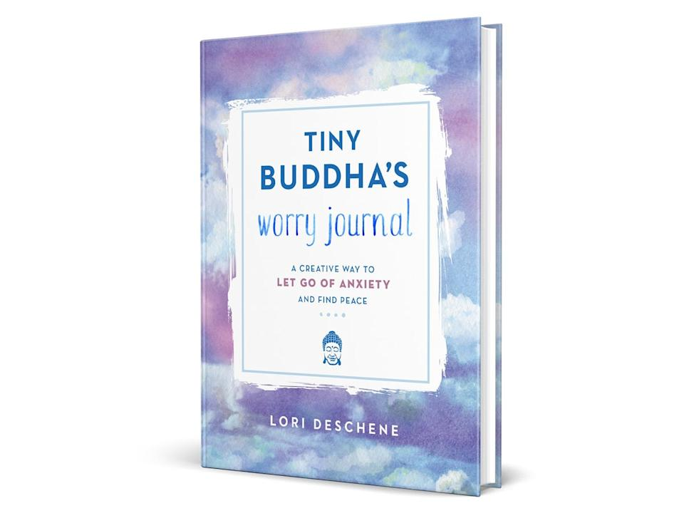 Best anxiety journals Tiny Buddah's Worry Journal