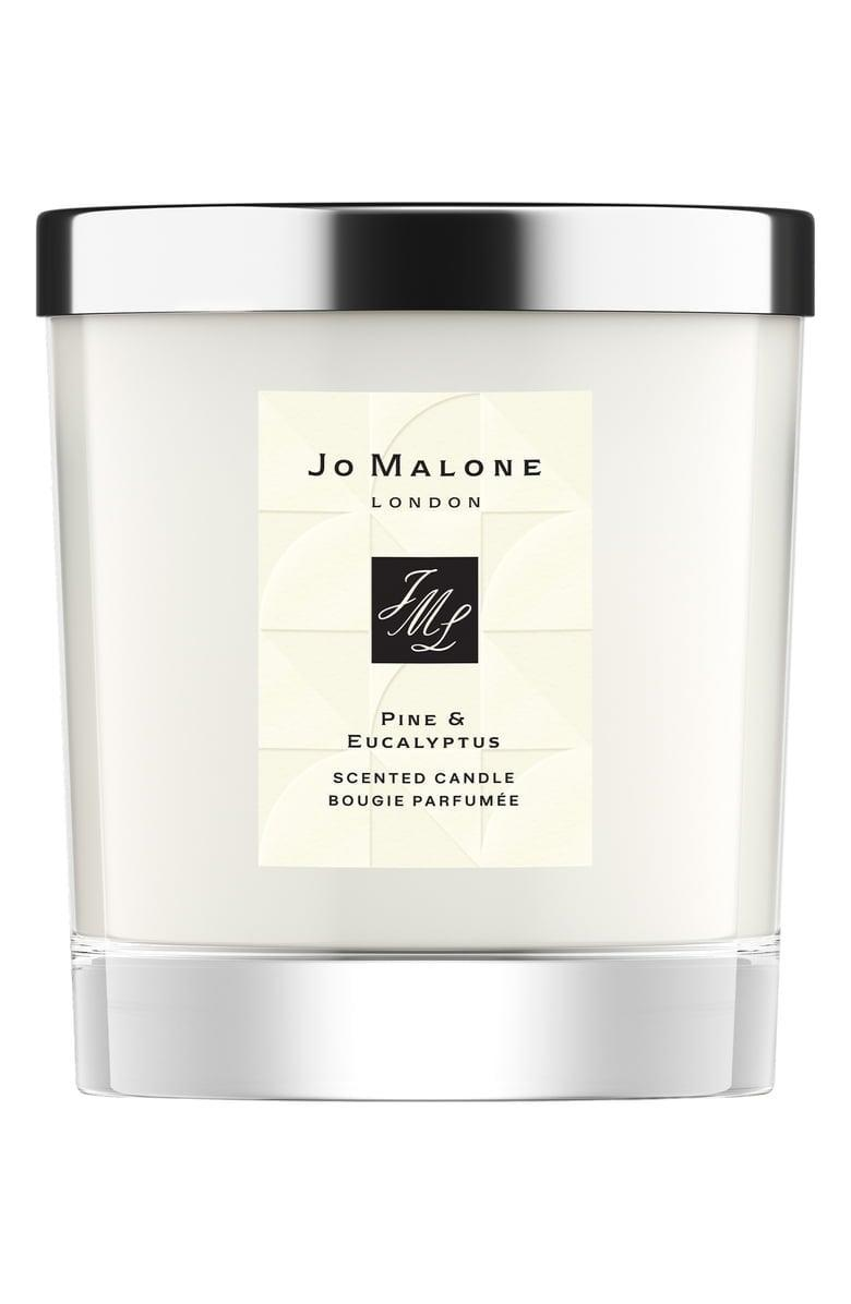 <p>This <span>Jo Malone Pine & Eucalyptus Scented Home Candle</span> ($72) is a great candle, and it smells divine.</p>