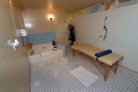 A wet and dry spa room is shown at the Love Ranch, a legal brothel owned by Dennis Hof, who recently won the Republican primary election for Nevada State Assembly District 36, in Crystal, Nevada, U.S. June 15, 2018. Picture taken June 15, 2018. REUTERS/Steve Marcus