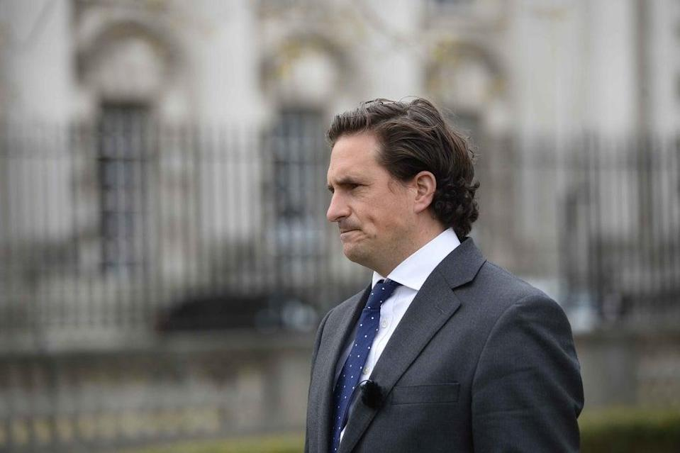 Ex-veterans minister Johnny Mercer has criticised the MoD (Mark Marlow/PA) (PA Wire)