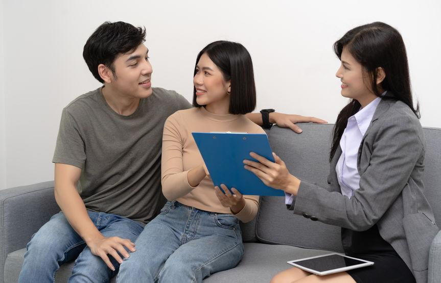 Mixed-race couples might be unable to sell their flat easily due to the restrictions in place.