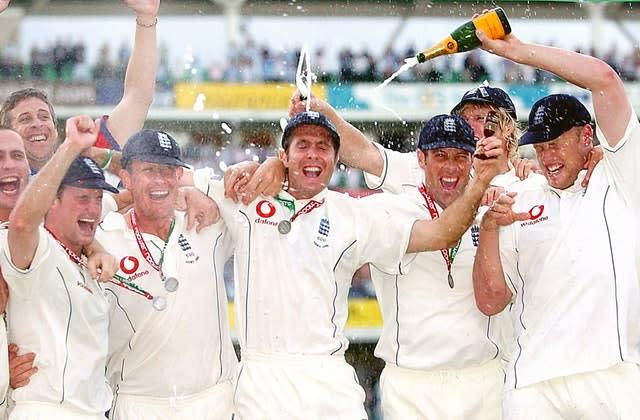 England sealed their famous 2005 Ashes triumph on the fifth day of the final Test at the Oval (Chris Young/PA)