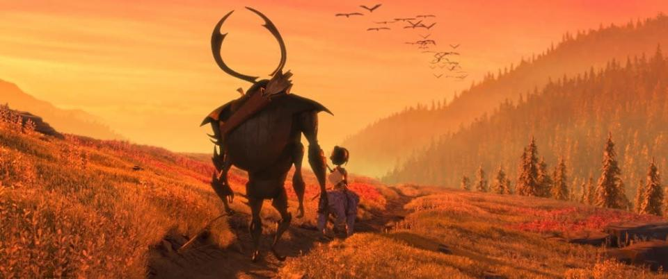 """Kubo and the Two Strings."" (United International Pictures)"