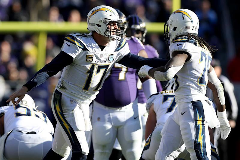Chargers Troll Ravens' Pregame Masks With 'Crying Jordan' After Playoff Game
