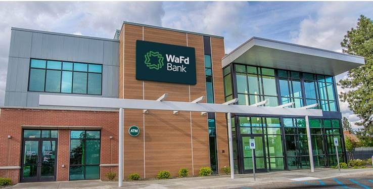 A WaFd Bank branch. The company was formerly known as Washington Federal but rebranded last year. Courtesy: WaFd Bank
