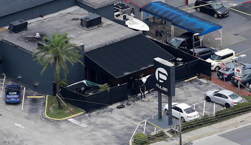 2016 Pulse nightclub after shooting in 2016.