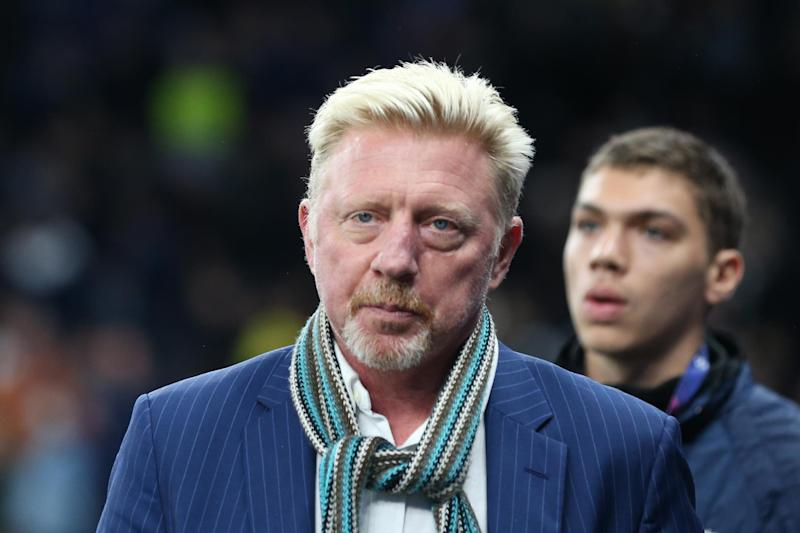 Boris Becker pictured at Tottenham Hotspur Stadium earlier this month: Steven Paston/PA