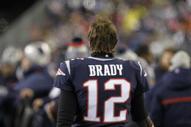 Tom Brady revealed some hard questions he'll answer this offseason after a Super Bowl loss to the Eagles last month. (AP)