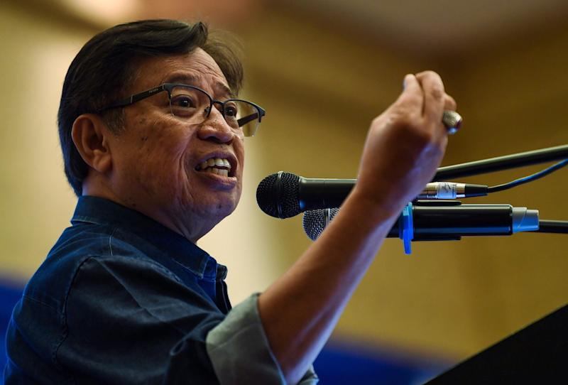 The chief minister took a swipe at Sarawak PH for making continuous erroneous allegations and insinuations against him, state ministers and state civil servants. — Bernama pic