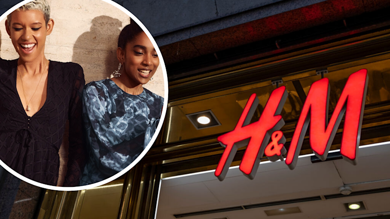 H&M will test a rental service. Images: Getty, H&M