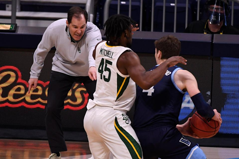 Baylor and coach Scott Drew are looking for their first national championship.