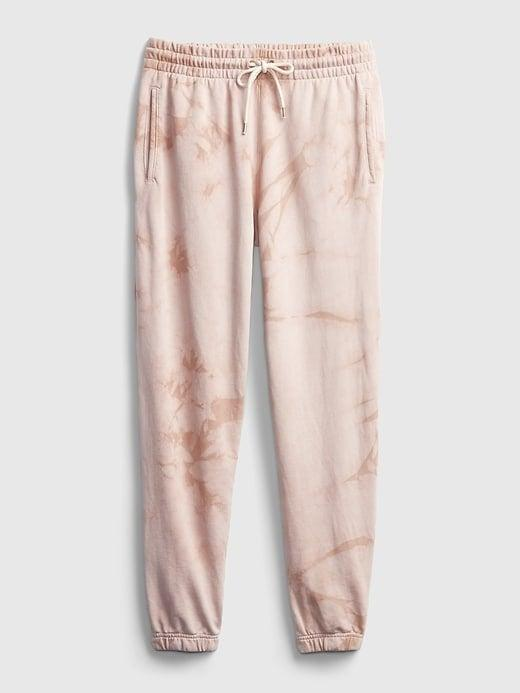<p>Pair the crewneck with these <span>Gap Vintage Soft Classic Joggers</span> ($35-$55, originally $50-$55); they come in tie-dye and other great marble prints!</p>