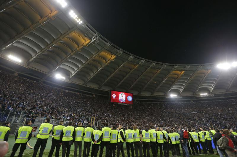 Napoli wins violence-marred Italian Cup final