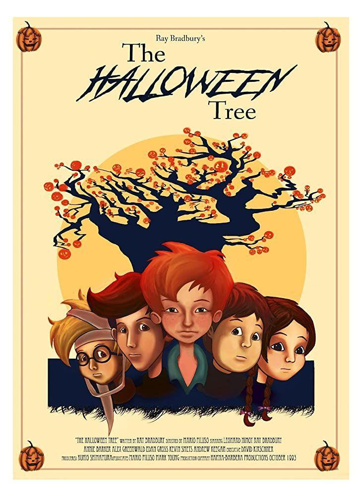 "<p>Based on Ray Bradbury's novel, the made-for-TV film follows four children across culture and time as they quest to save the soul of their dying friend. It might be said Bradbury did for Halloween what Charles Dickens did for Christmas. We agree.</p><p><a class=""link rapid-noclick-resp"" href=""https://www.amazon.com/Halloween-Tree-Ray-Bradbury/dp/B00FGI4M3M/ref=sr_1_1?dchild=1&keywords=The+Halloween+Tree&qid=1593548542&s=instant-video&sr=1-1&tag=syn-yahoo-20&ascsubtag=%5Bartid%7C10063.g.34171796%5Bsrc%7Cyahoo-us"" rel=""nofollow noopener"" target=""_blank"" data-ylk=""slk:WATCH HERE"">WATCH HERE </a></p>"