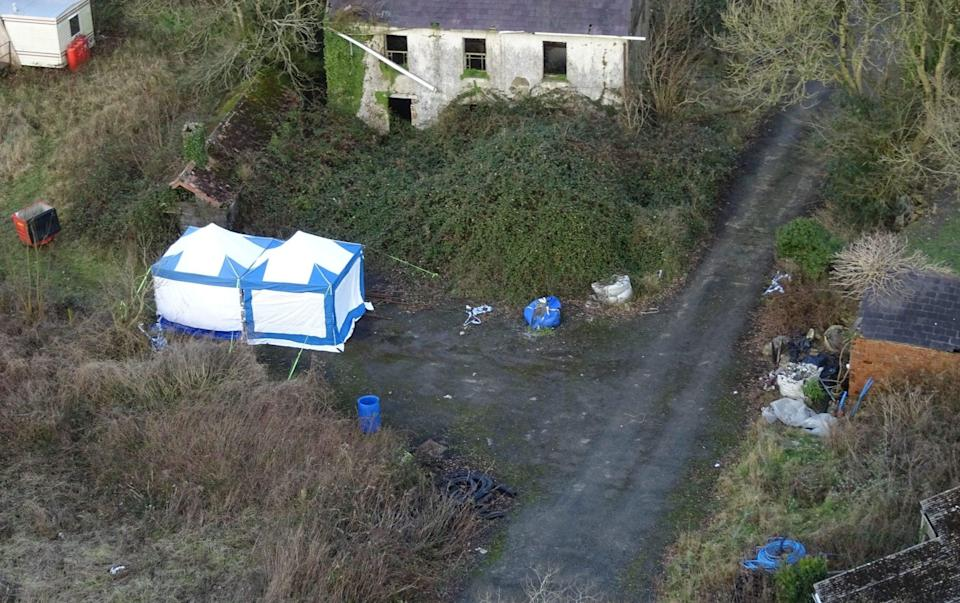 Police searched Jones's farm and found small but crucial pieces of evidence - ITV Cymru Wales