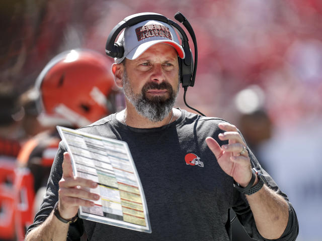 Todd Haley coaches against the Tampa Bay Buccaneers at Raymond James Stadium on October 21, 2018, in Tampa, Florida. (Getty Images)