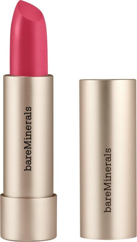 <p>Keep your lips hydrated with the mineral-infused <span>bareMinerals Mineralist Hydra-Smoothing Lipstick in Creativity</span> ($20). </p>
