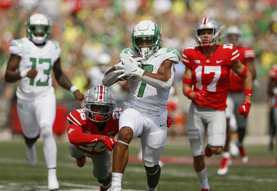Ohio State unit grades and individual snap counts for loss to Oregon