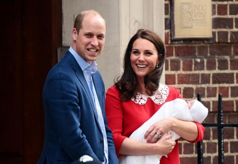 Prince Louis to be christened by the Archbishop of Canterbury next month