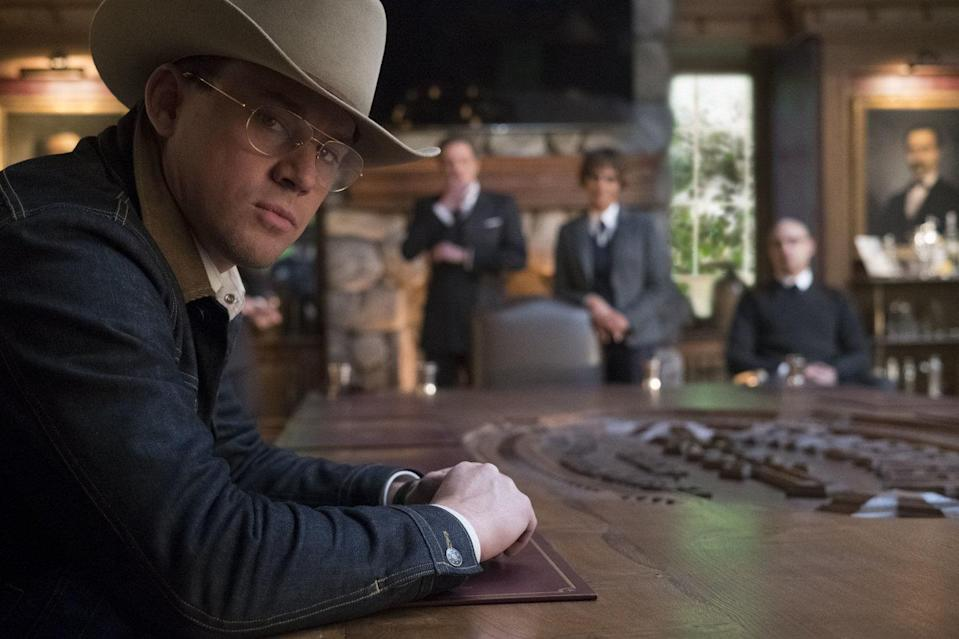 Channing Tatum as Agent Tequila in 'Kingsman: The Golden Circle' (credit: 20th Century Fox)