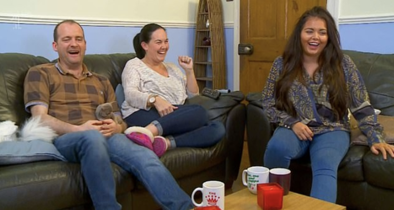 The Moffatt family on Gogglebox (Channel 4)