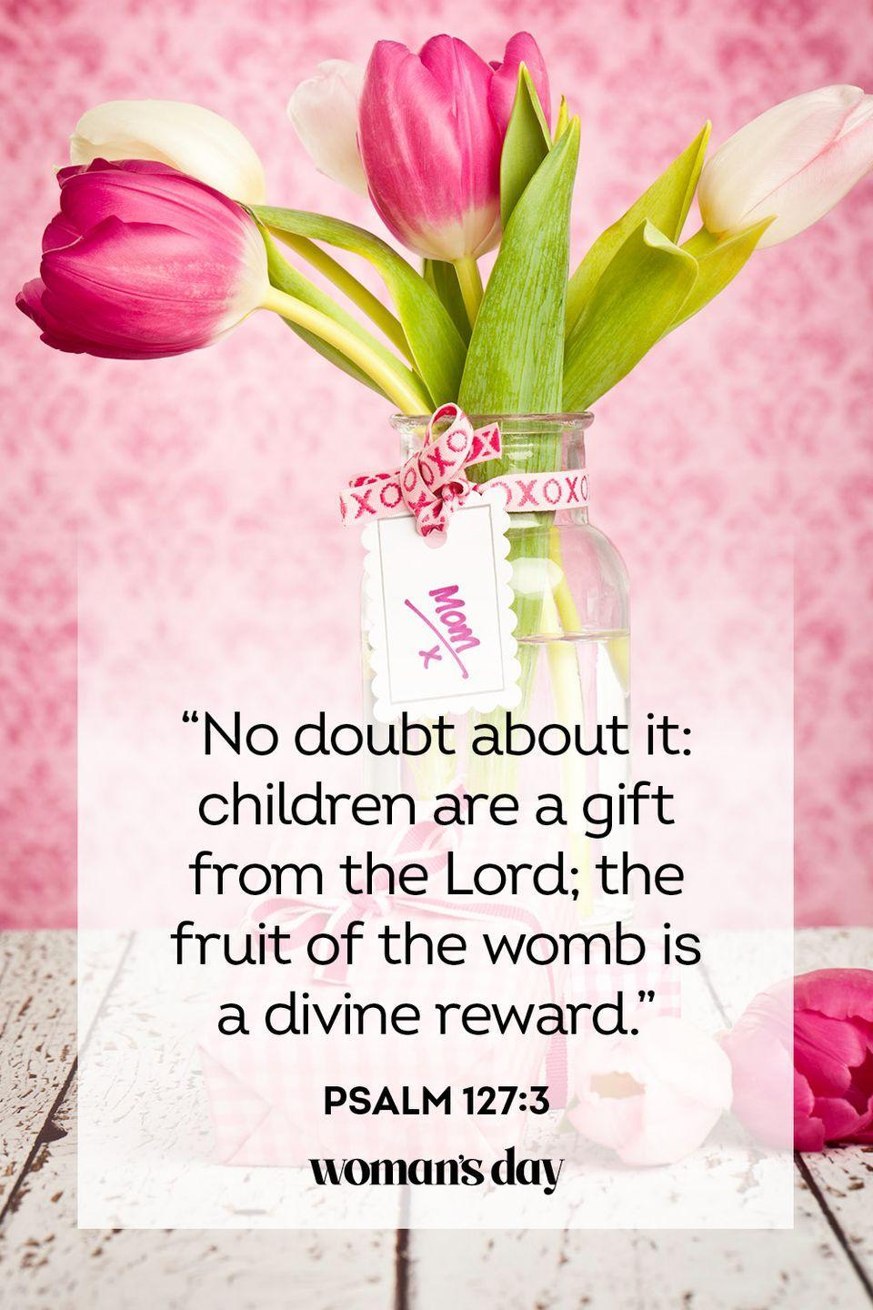 "<p>""No doubt about it: children are a gift from the Lord; the fruit of the womb is a divine reward.""</p><p><strong>The Good News: </strong>God created the family, and He offers the blessing of children as a gift. </p>"