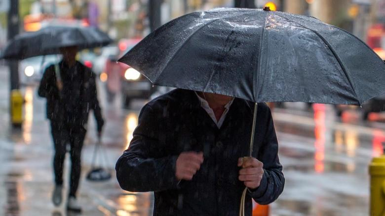 Afternoon showers could make for slick roads in Toronto today