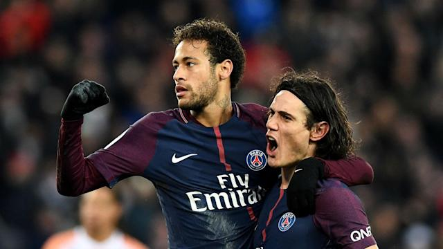 Paris Saint-Germain's Uruguay international has confirmed there was an issue between the pair, who've quarreled on the field this season