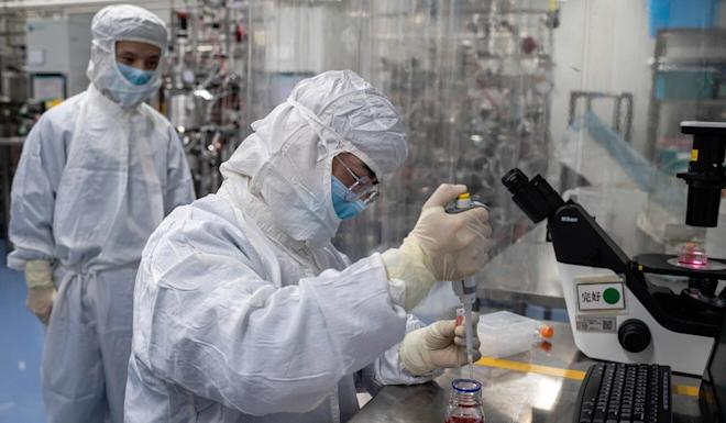 Chinese scientists are among the world's most prolific producers of research into the novel coronavirus and Covid-19. Photo: AFP