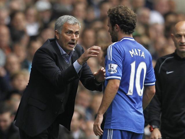 Juan Mata struggled to establish himself under Jose Mourinho at Chelsea: Getty