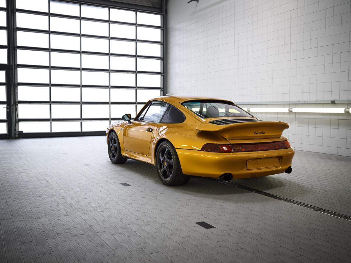 Project Gold Porsche Becomes Most Expensive 993 Turbo Ever