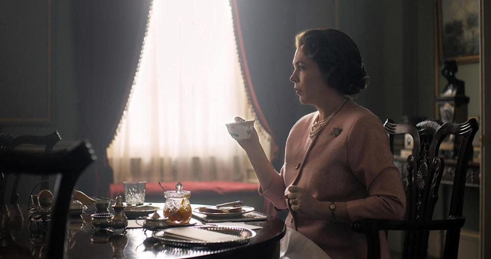 Netflix first look at Olivia Colman as The Queen