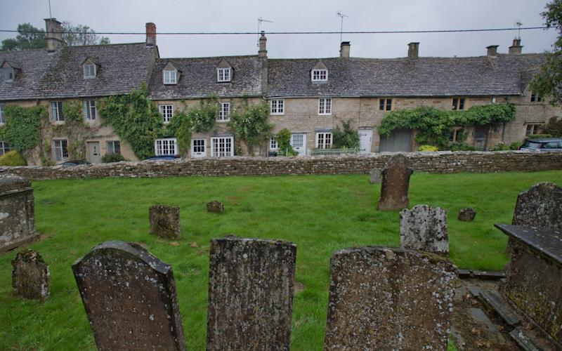 Village of the Blessed...Bledington in the Cotswolds, where DNA testing has reveiled a few new family connections. - David Rose