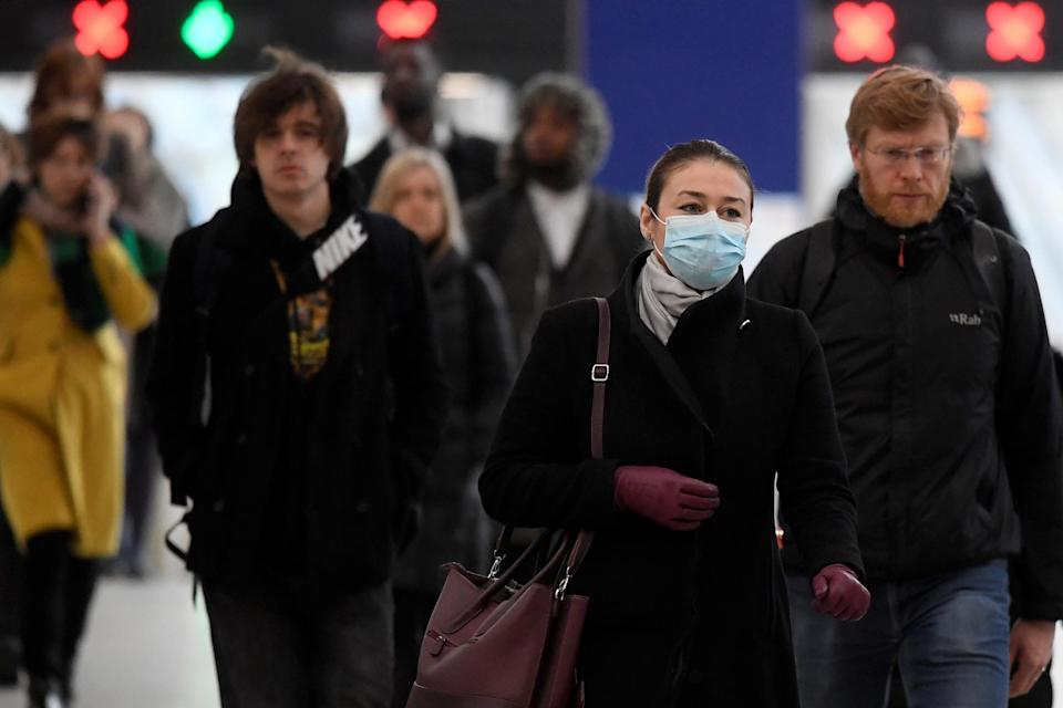 <p>Separate figures show there have now been 74,000 deaths involving Covid-19 in the UK</p>REUTERS