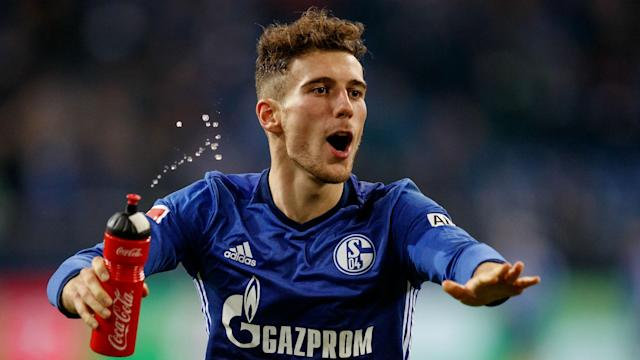 Schalke fans took aim at Leon Goretzka as he returned to the starting XI two days after his exit to Bayern Munich was confirmed.