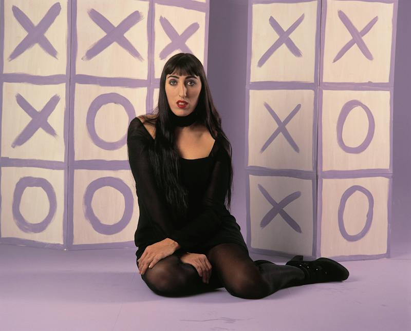 Rossy de Palma, actress Sat down in the floor (Photo by Alvaro Rodriguez/Cover/Getty Images)