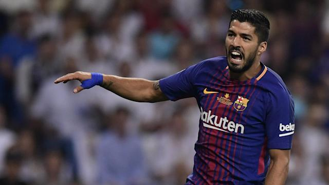 Luis Suarez Real Madrid Barcelona Supercopa 16082017