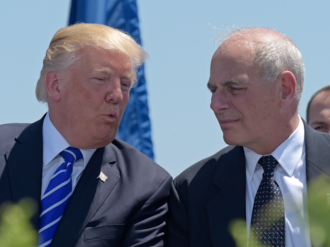 Trump Chief of Staff John Kelly Declares He's 'Not Quitting Today&#39