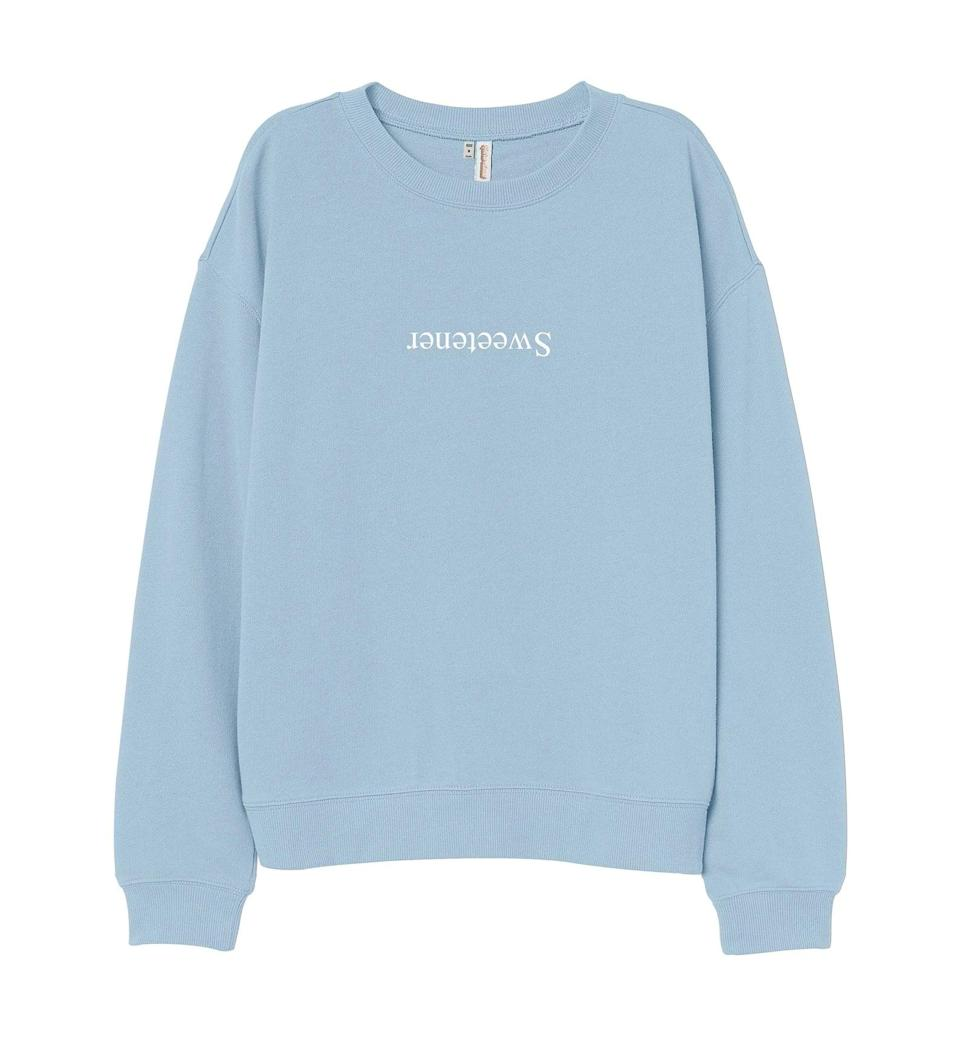 <p>You can't go wrong with this <span><b>Sweetener</b> Sweatshirt</span> ($23, and up), it's such an Ariana vibe. All they'll need is a chic high pony and some knee high boots. </p>