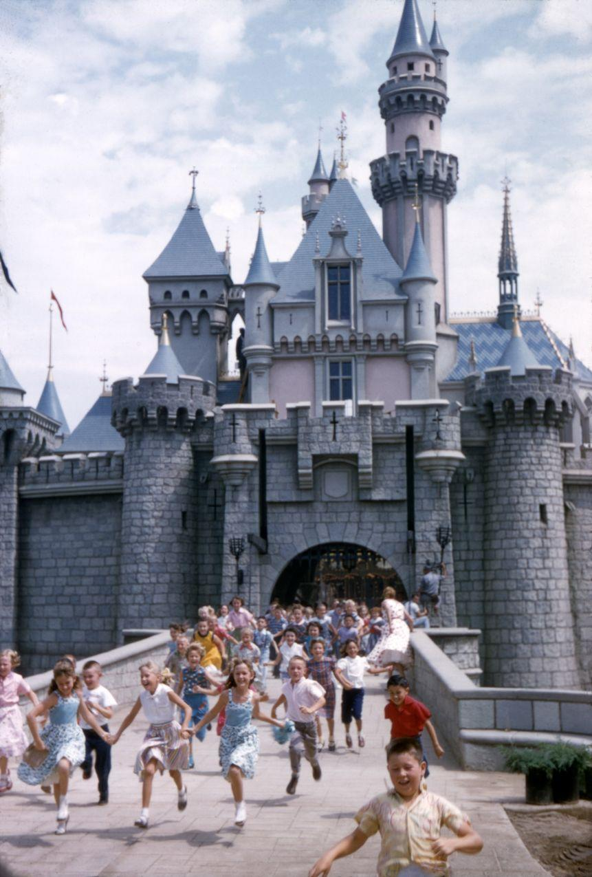 """<p>The first <a href=""""https://disneyland.disney.go.com/"""" rel=""""nofollow noopener"""" target=""""_blank"""" data-ylk=""""slk:Disneyland"""" class=""""link rapid-noclick-resp"""">Disneyland</a> opened on July 17 1955, and the world of theme parks was forever changed. Located in Anaheim, families flocked to the opening enjoying attractions never seen before. </p>"""