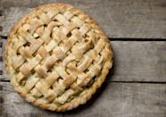 """<p>A popular dessert option for Thanksgiving is an all-American apple pie, which, actually, isn't quite as American as you think. Apples aren't native to America, and they were brought here in the form of apple trees, planted by European settlers to claim land. According to <a href=""""https://www.smithsonianmag.com/smart-news/why-apple-pie-linked-america-180963157/"""" rel=""""nofollow noopener"""" target=""""_blank"""" data-ylk=""""slk:Smithsonian"""" class=""""link rapid-noclick-resp""""><em>Smithsonian</em></a>, the earliest recipe recorded for apple pie was written in England in 1381 and included figs, raisins, pears, and saffron. Dutch apple pie recipes have dated back to 1514. </p><p>It's possible that this became a Thanksgiving treat since apples are in their peak season during the fall. </p>"""