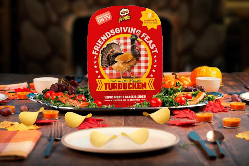 Get a 'complete' Thanksgiving dinner from Pringles