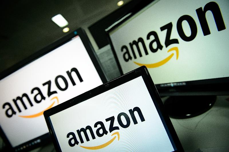 Amazon is widely known for its prowess as an online retail colossus, but is also thriving when it comes to sending business aloft in the Internet cloud (AFP Photo/Leon Neal)