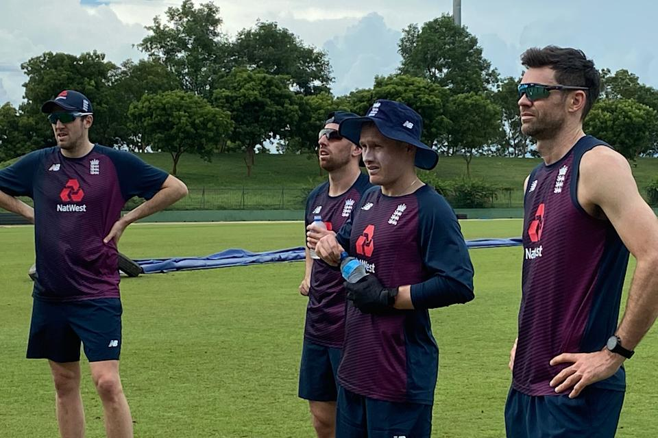 England's players are now free to train in Sri Lanka after self-isolating in their hotel roomsECB