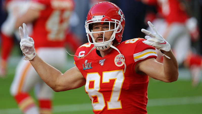 Kansas City Chiefs tight end Travis Kelce is very excited to meet President Donald Trump. (Ronald Martinez/Getty Images)