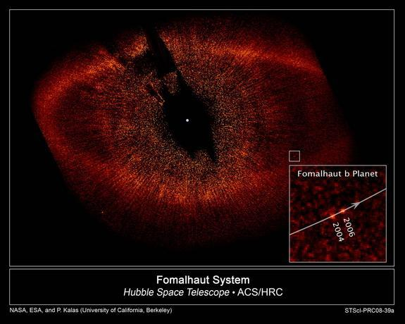 In 2008, Hubble captured the first photograph of a planet beyond the solar system.
