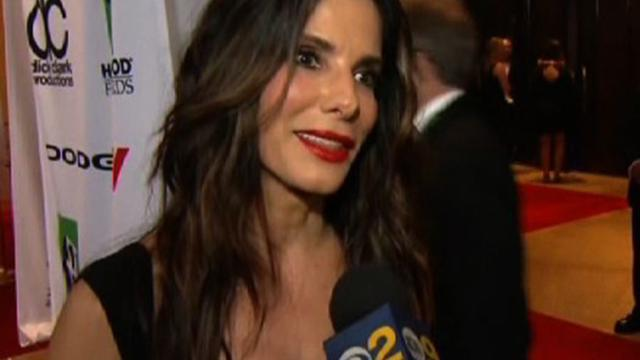Sandra Bullock, Harrison Ford talk 2013 Hollywood Film Awards
